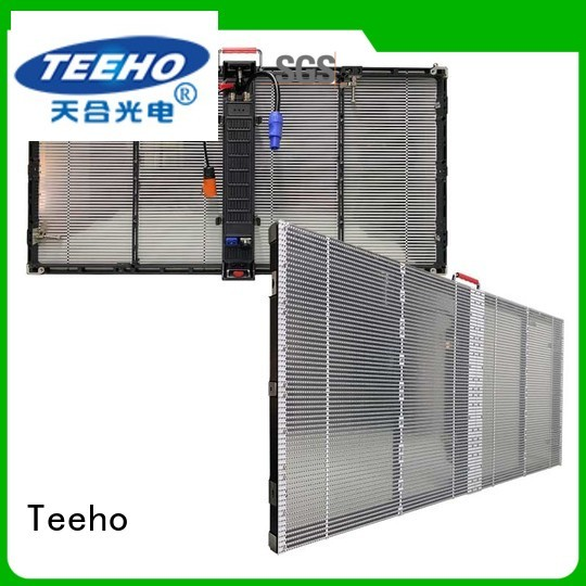 quick installation Transparent LED Display for wholesale for 4S store