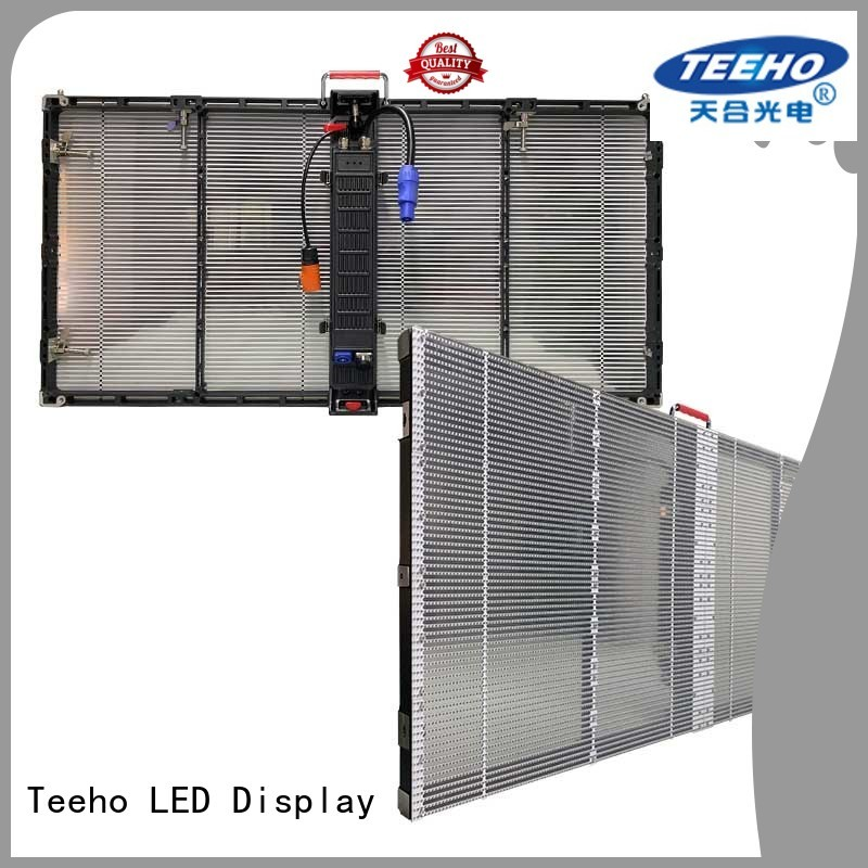 Teeho Transparent LED Display for wholesale for bank