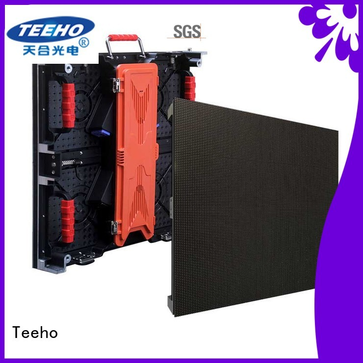 Teeho quickly installed led wall overseas market for conference