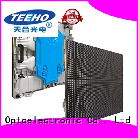 Teeho advanced technology giant led screen for wholesale for company reception room