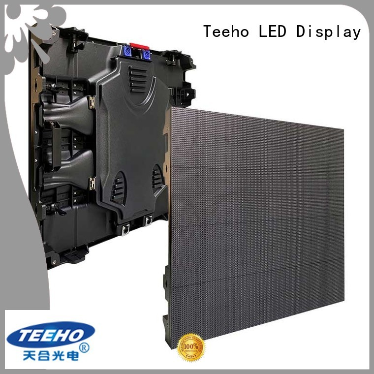 Teeho p5 led display overseas market for downtown shopping mall