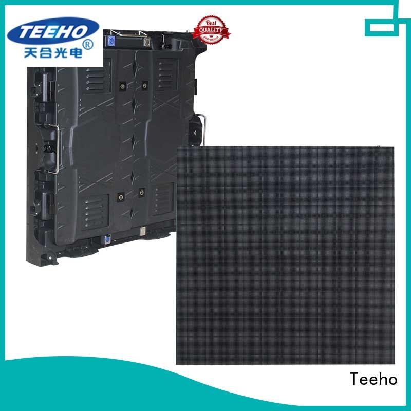 Teeho long lifespan segment led display bulk production for conference meeting