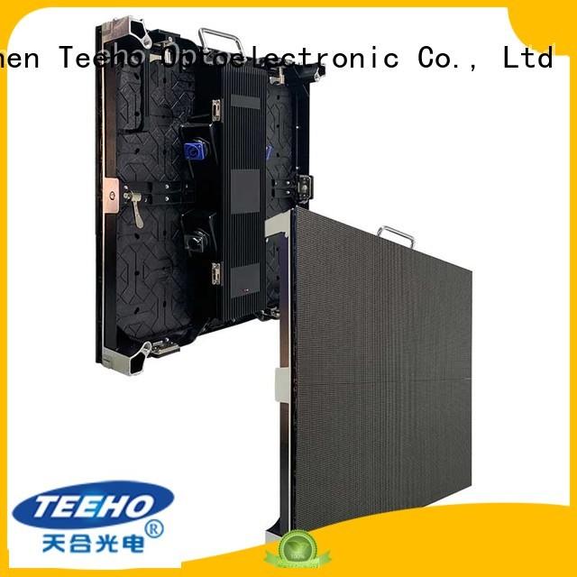 Teeho light led wall overseas market for exhibition