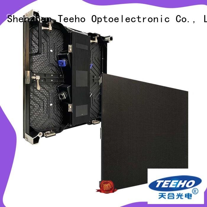 Teeho dismantled Rental LED Display bulk production for hotel stage