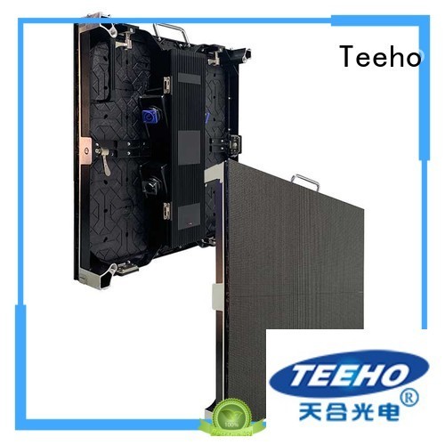 Teeho transported Rental LED Display overseas market for conference