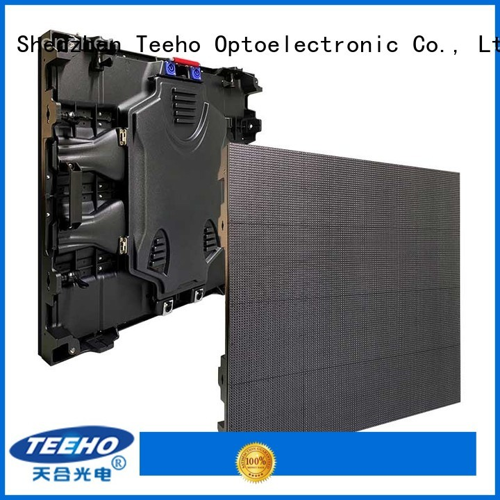 Teeho fixed led video wall by bulk for roomhotel hall