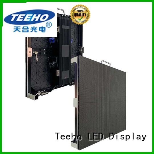 Teeho led wall bulk production for hotel stage