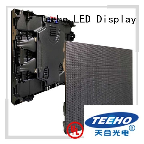 Teeho fixed led video wall for wholesale for transportation sign