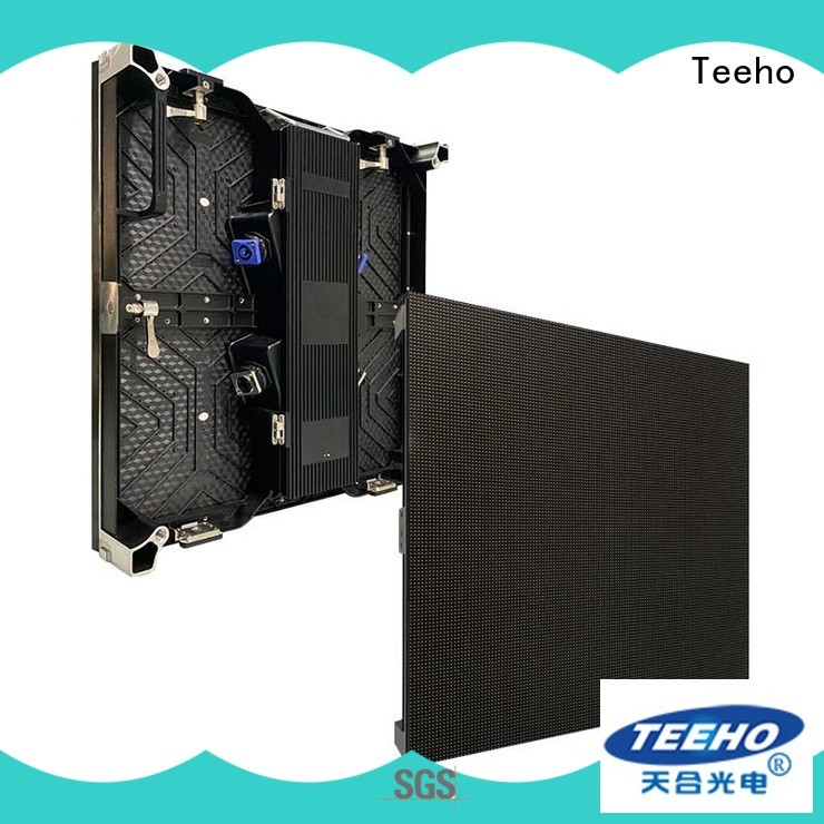 Teeho thin rental LED screen bulk production for exhibition