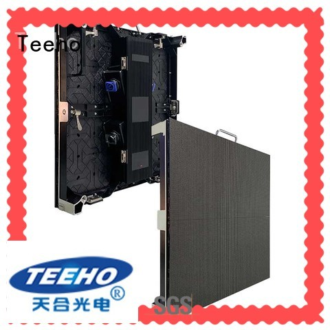 Teeho led cabinet overseas market for wedding ceremony