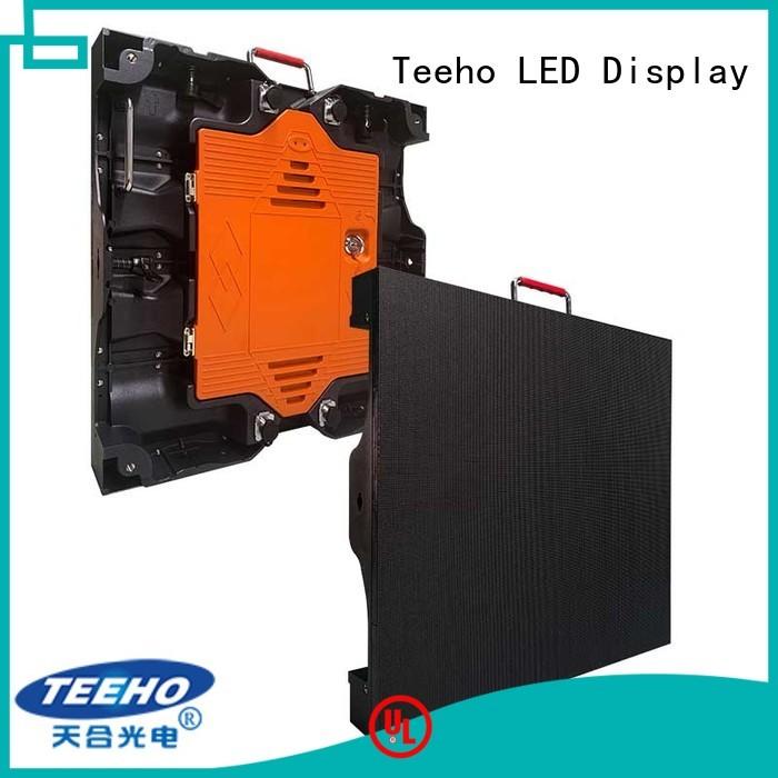 Teeho p5 led panel bulk production for company reception room