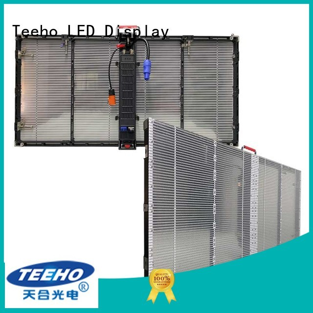 quick installation Transparent LED Display for wholesale for shopping mall