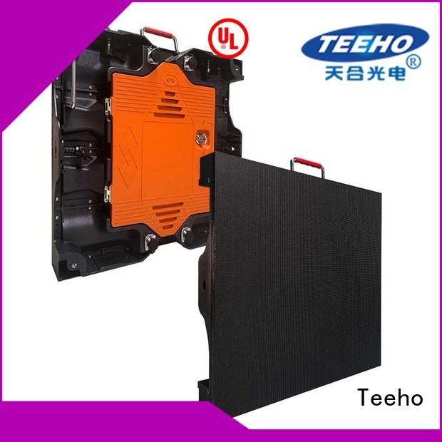 Teeho widely used outdoor fixed led display factory price for company reception room