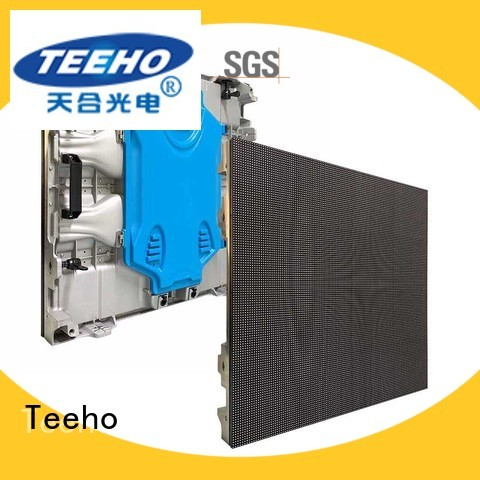 Teeho clear outdoor fixed led display by bulk for company reception room