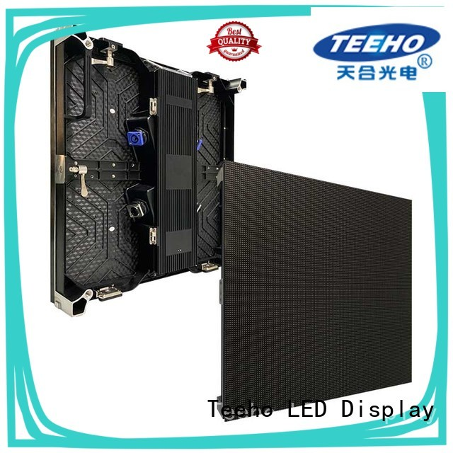 Teeho light outdoor rental led display by bulk for hotel stage
