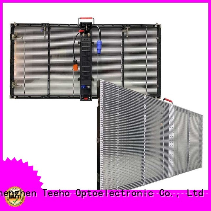 Teeho Transparent LED Display by bulk for bank