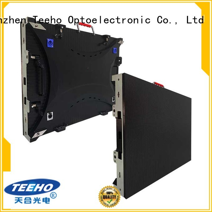 Teeho fixed led screen for wholesale for leisure square